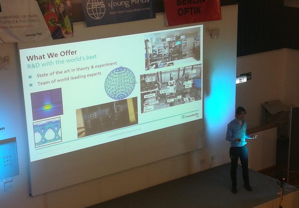 Working in Photonics in Berlin 2019 – Berlin Optik Student