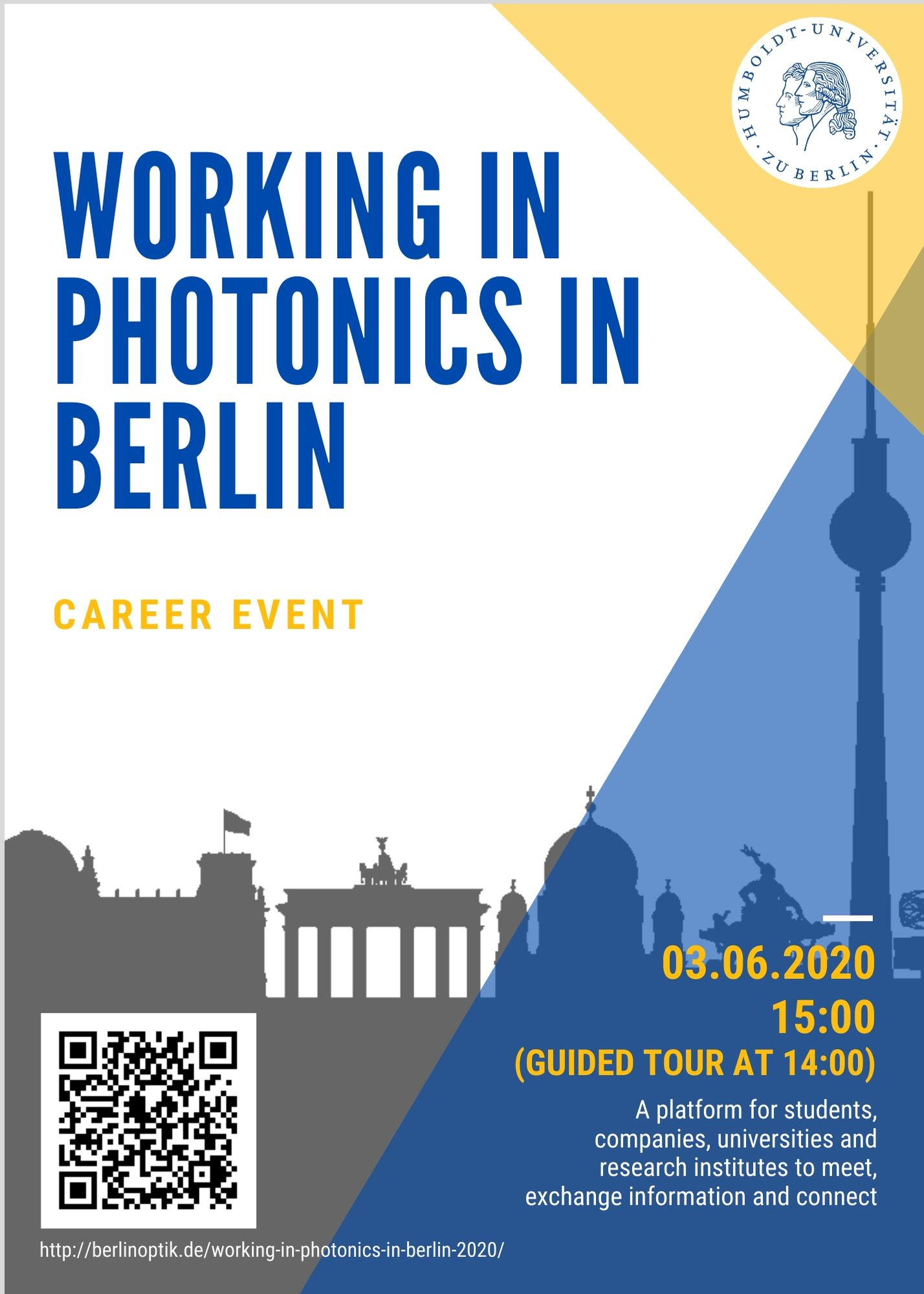 Working in Photonics in Berlin 2020