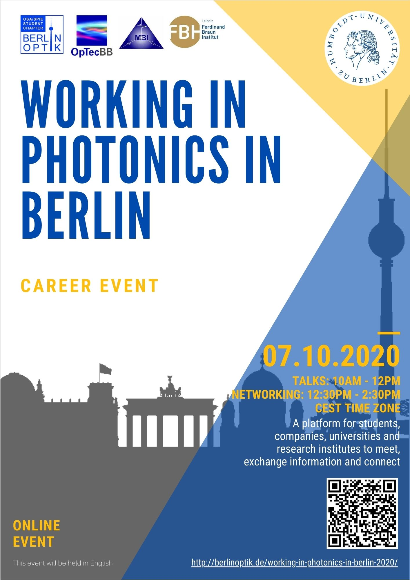 WPB2020 - Working in Photonics in Berlin